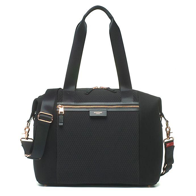 Alternate image 1 for Storsak® Stevie Luxe Diaper Bag