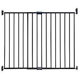 Expandable Metal Safety Gate in Bronze