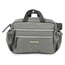 Bananafish Sidekick Diaper Belt Bag in Heather Grey