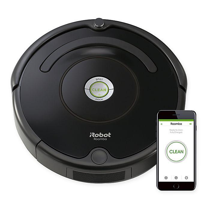 Alternate image 1 for iRobot® 675 WiFi Connectivity Robot Vacuum in Black