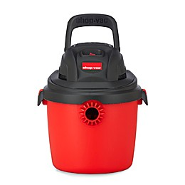 Shop-Vac® 2.5-Gallon 2036000 Portable Wet/Dry Vacuum in Red/Black