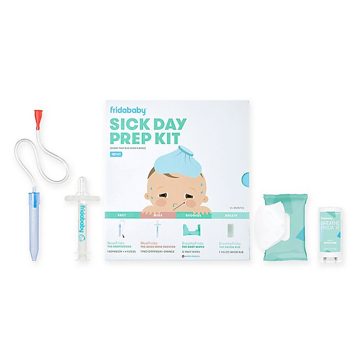 Alternate image 1 for Fridababy 4-Piece Sick Day Prep Kit