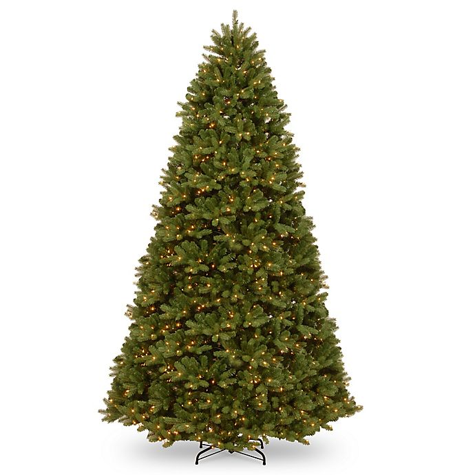 Alternate image 1 for National Tree Company Dual Color® Pre-Lit Newbury Spruce Christmas Tree