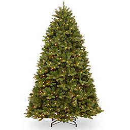 National Tree Company Dual Color® 8-Foot Pre-Lit Newbury Spruce Christmas Tree
