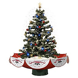 Fraser Hill Farm 29-Inch Snowing Musical Christmas Tree