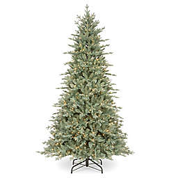 National Tree Company 7.5-Foot Buckingham Spruce Pre-Lit Artificial Christmas Tree