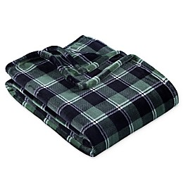 Berkshire Blanket® Plaid VelvetLoft Throw Blanket