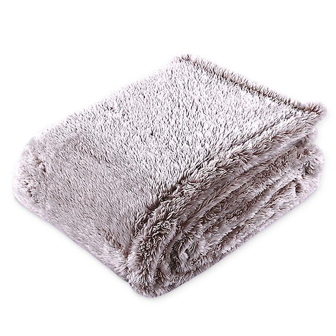 Alternate image 1 for Berkshire Blanket® Frosted Extra-Fluffy Flow Blanket