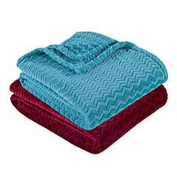 Berkshire Blanket® Chevron VelvetLoft® Throw Blanket