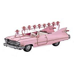 Pink Cadillac Hanukkah Menorah