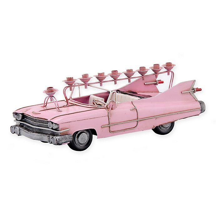 Alternate image 1 for Pink Cadillac Hanukkah Menorah