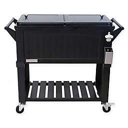 Permasteel 80-Quart Furniture Rolling Cooler