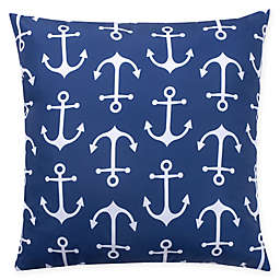 Millano Collection Anchor Indoor/Outdoor Square Throw Pillow
