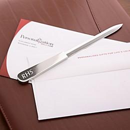 Personalized Monogram Letter Opener