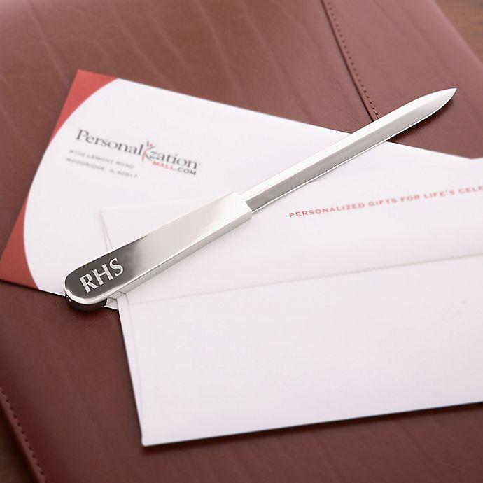 Alternate image 1 for Personalized Monogram Letter Opener