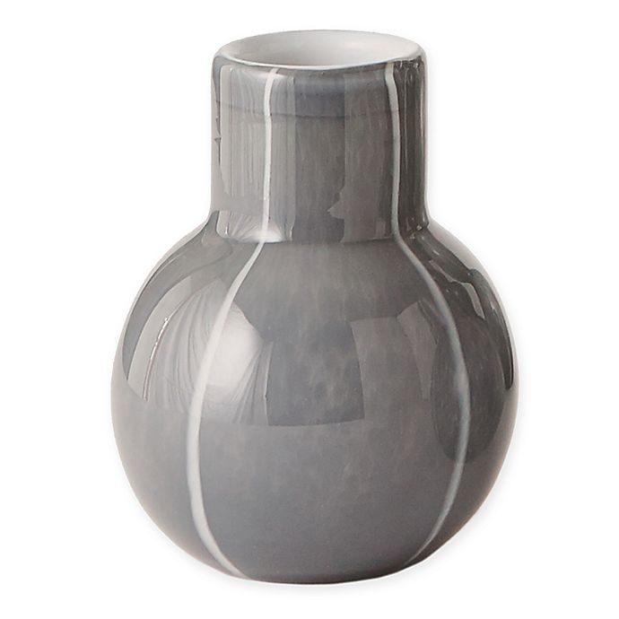 Alternate image 1 for Global Views 7-Inch One Bubble Vase in Dark Grey