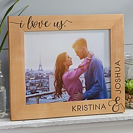 I Love Us Forever Personalized Picture Frame