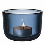 Iittala Valkea Glass Tea Light Candle Holder in Rain