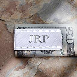 LaSalle Collection Engraved Money Clip- Monogram