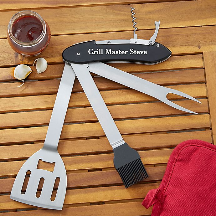 Alternate image 1 for Grill & Chill Personalized BBQ Multi-tool