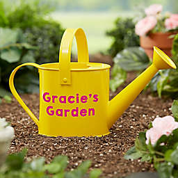 Sunshine & Gardening Time Personalized Watering Can