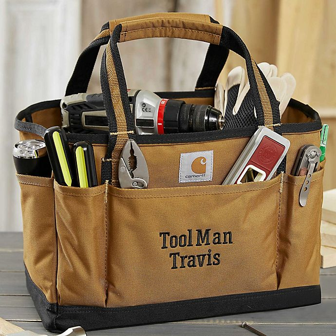 Alternate image 1 for Carhartt® Trade Series Embroidered Tool Tote