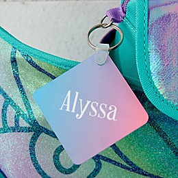 Forest Pixie Personalized Backpack ID Tag