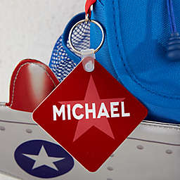 Rocketflyer Personalized Backpack ID Tag