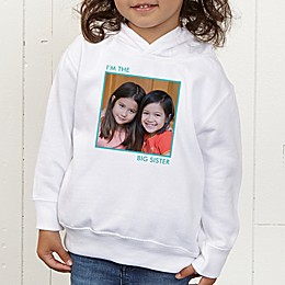 Picture Perfect Personalized Toddler Hooded Sweatshirt
