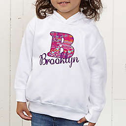 Her Name Personalized Toddler Hooded Sweatshirt