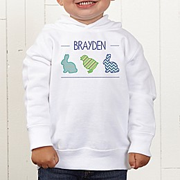 Hip Hop Easter Personalized Toddler Hooded Sweatshirt