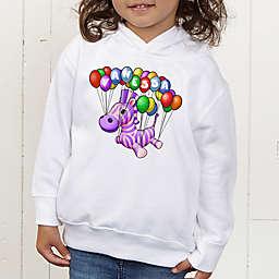 Floating Zoo Personalized Toddler Hooded Sweatshirt