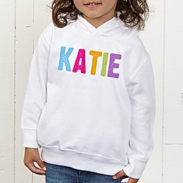 All Mine! Personalized Toddler Hooded Sweatshirt