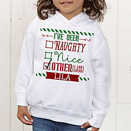I Can Explain Personalized Christmas Toddler Hooded Sweatshirt