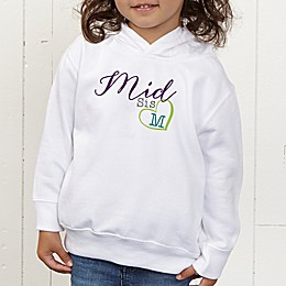 Big/Mid/Lil Sibling Personalized Toddler Hooded Sweatshirt