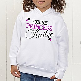 When I Grow Up Personalized Toddler Hooded Sweatshirt