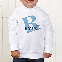 Alphabet Fun Personalized Toddler Hooded Sweatshirt