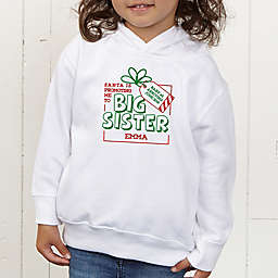 Promoted By Santa Personalized Toddler Hooded Sweatshirt