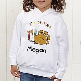 I'm Stuffed Personalized Toddler Hooded Sweatshirt