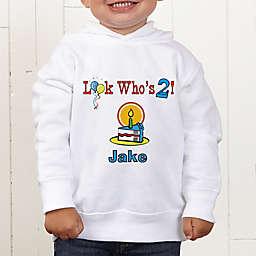 Birthday Kid Personalized Toddler Hooded Sweatshirt