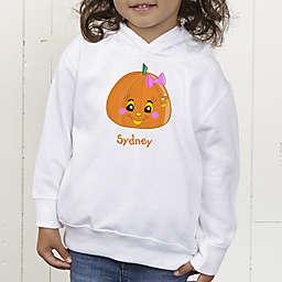 Miss Pumpkin Personalized Toddler Hooded Sweatshirt