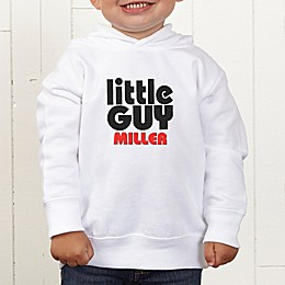 Little Guy Personalized Toddler Hooded Sweatshirt