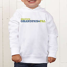 Grandpa's Favorite Personalized Toddler Hooded Sweatshirt