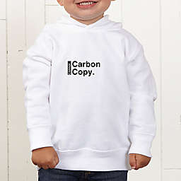 The Legend Continues Personalized Toddler Hooded Sweatshirt