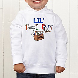 Lil Tool Guy Personalized Toddler Sweatshirt