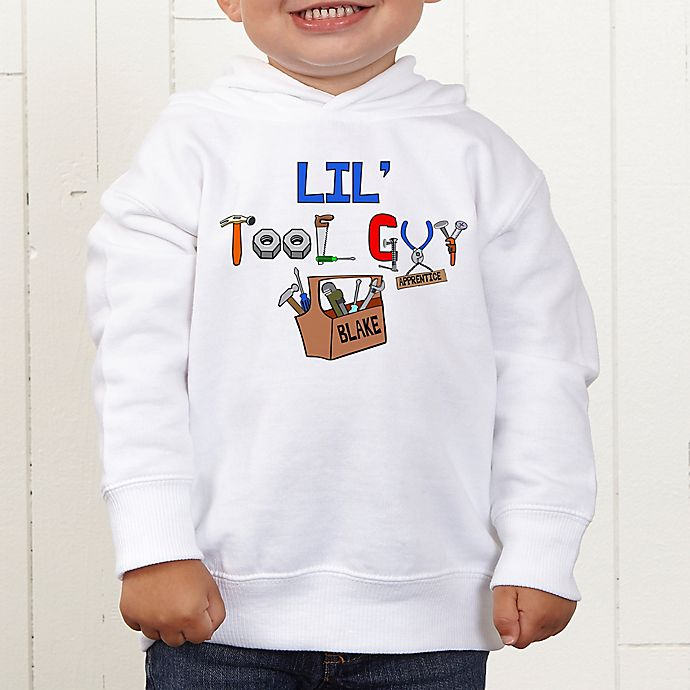 Alternate image 1 for Lil Tool Guy Personalized Toddler Sweatshirt