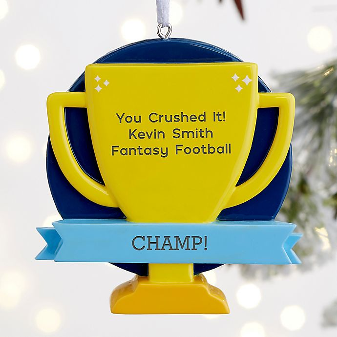 Alternate image 1 for You Crushed It! Personalized Trophy Ornament