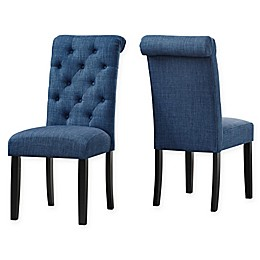 Brassex Inc Upholstered Soho Dining Chairs (Set of 2)