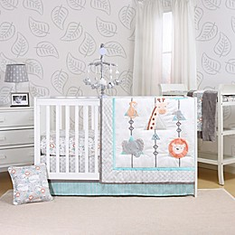 The Peanutshell™ Safari Adventure Crib Bedding Collection