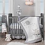 Lambs & Ivy® Luna 4-Piece Crib Bedding Set in Grey/White